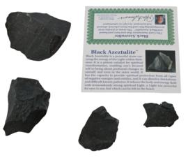 Azeztuliet zwart *  Black Azeztulite