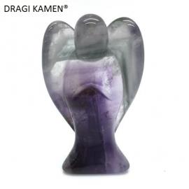Amethyst engel, 52 mm. Top kwaliteit. Code: AE007