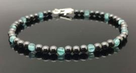 Dragi Kamen® design armband 'Aarding, Liefde en Voorspoed'