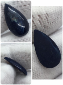 Royal Blue Sodaliet uit Portugal cabochon.