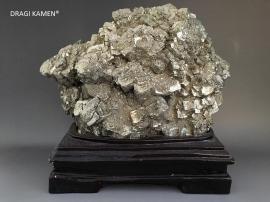 Pyriet cluster showstuk, 6,9 kilo.
