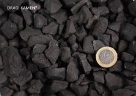 100 gram Shungiet of Shungite ruwe stenen, ideaal voor edelsteenwater.