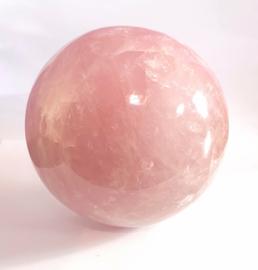 Roze kwarts/Rozenkwarts/Lavendelkwarts bol, 44,8 kilo.