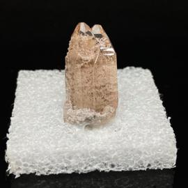 Topaas kristal, dubbele punt