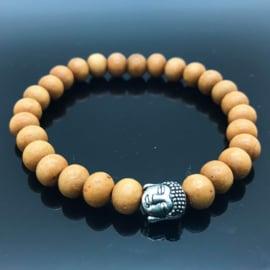 Buddha armband, Palo Santo