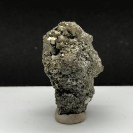 Prachtig gekristalliseerd  Pyriet cluster.