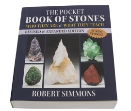 The pocket Book of stones, handgesigneerd door Rober Simmons