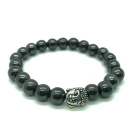 Buddha armband, Hematiet