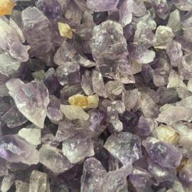Amethist kristallen, 50 gr