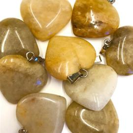 Golden Healer hart hanger
