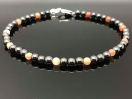 Dragi Kamen® design armband 'Aarding en Zelfliefde'
