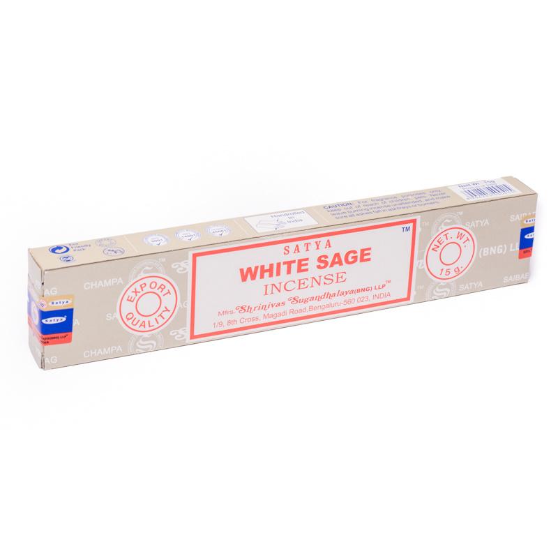 Satya wierook White Sage, Witte Salie, 15 gram