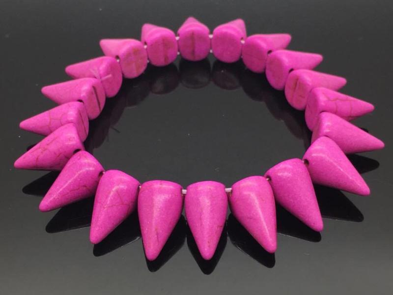 Self protection armband, howliet roze