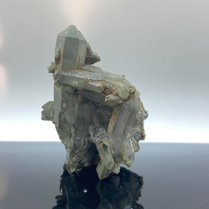 Himalaya kwarts cluster met chloriet, 174 gram