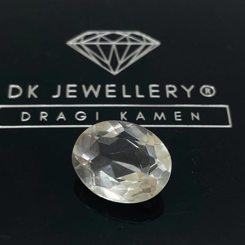 Facet geslepen Bergkristal 7,65 ct