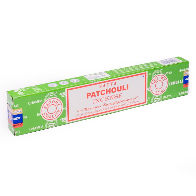 Satya wierook, Patchouli, 15 gram