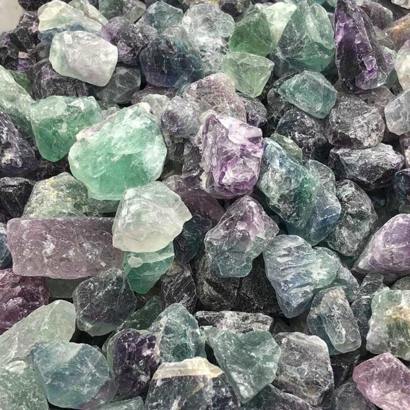 Fluoriet ruw kristal