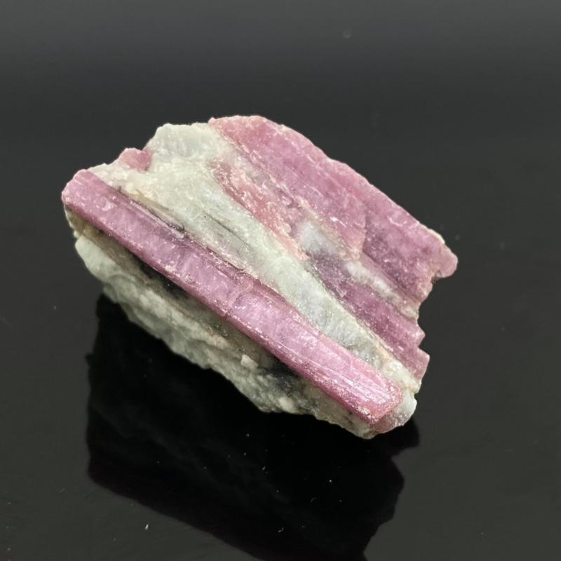 Roze Toermalijn in kwarts, 53 gr.