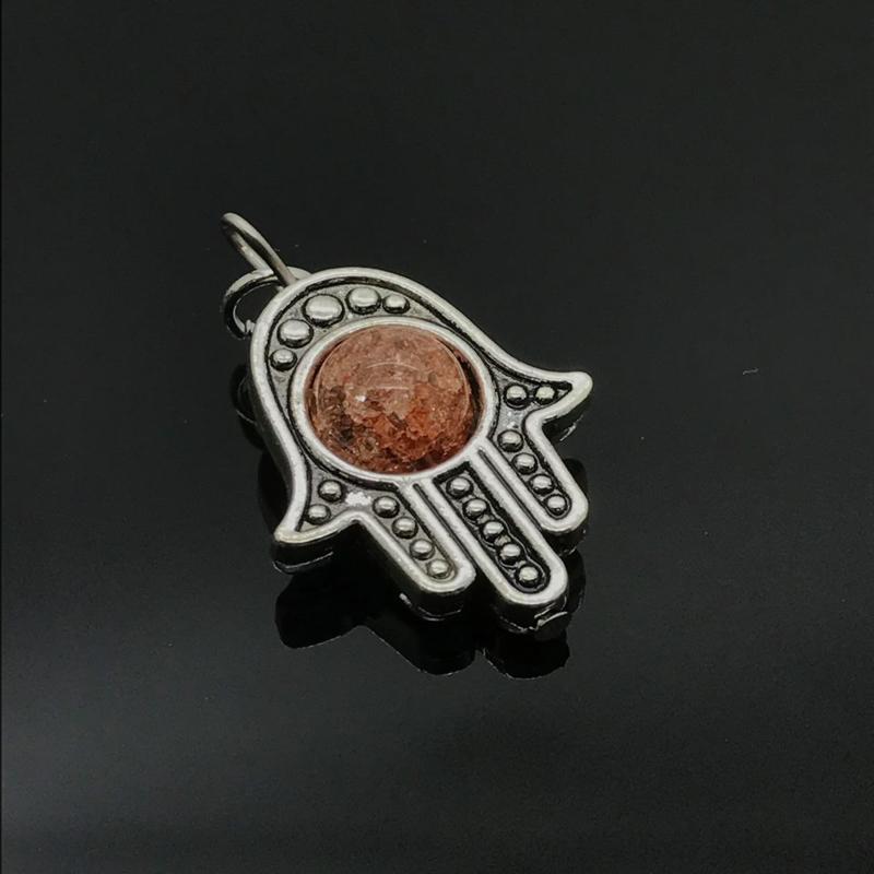 Beschermende Hamsa/Fatima's hand hanger 'Blijheid'