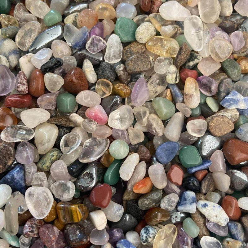 Stenenmix klein, 5-10 mm, 1000 gram/ 1 kg