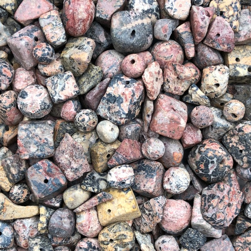 Leopard Skin Jaspis. 10 gram
