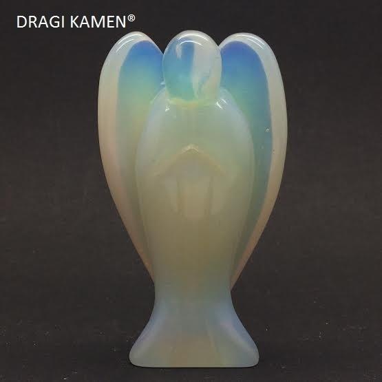 Opaline of zee opaal engel, 73 mm. Top kwaliteit.