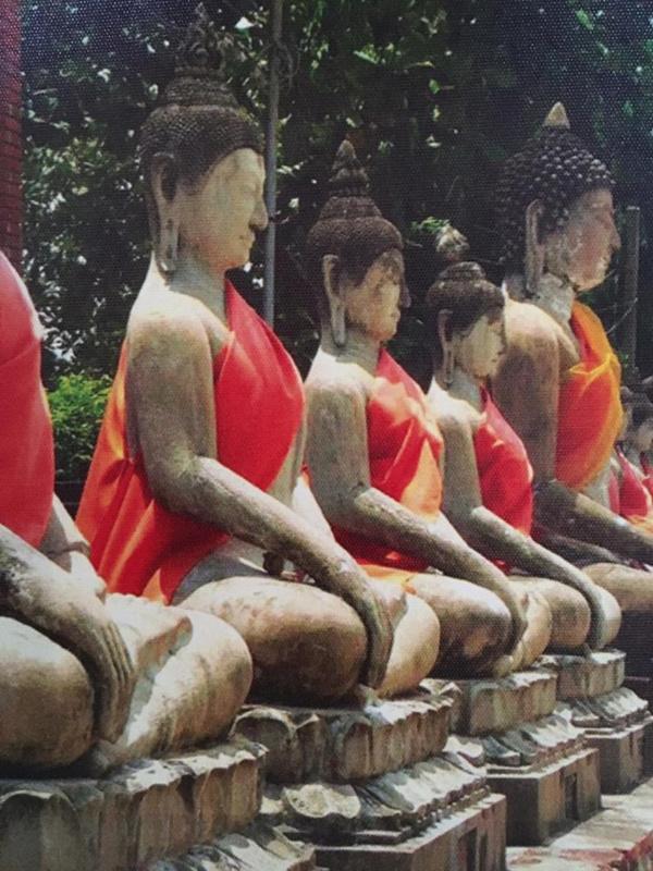 Boeddhistische wand decoratie