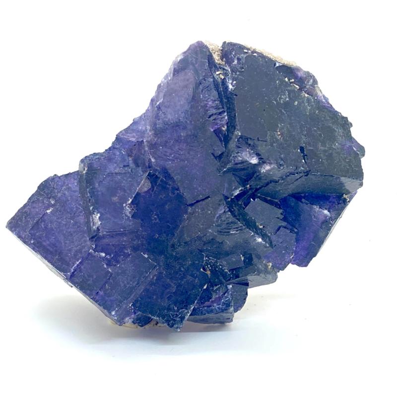 Fluoriet paars kristal, 298 gram