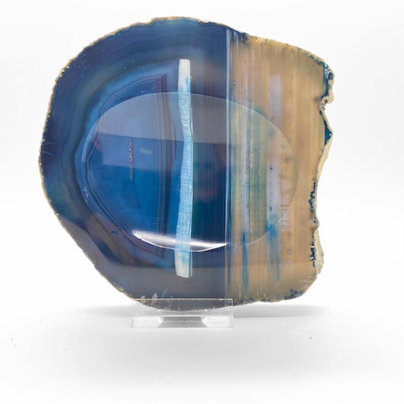 Agaat (gekleurd) schijf/kom 135 mm