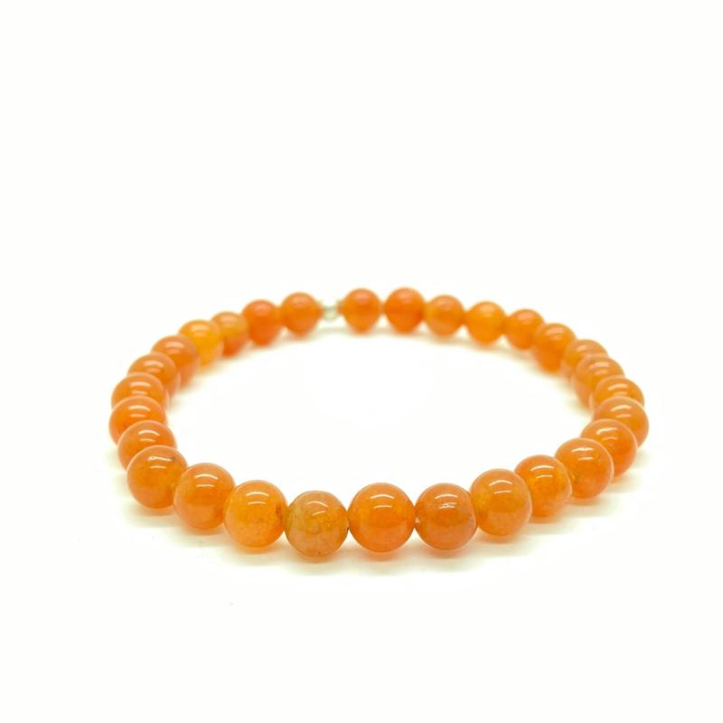 Perzik/oranje Aventurijn armband