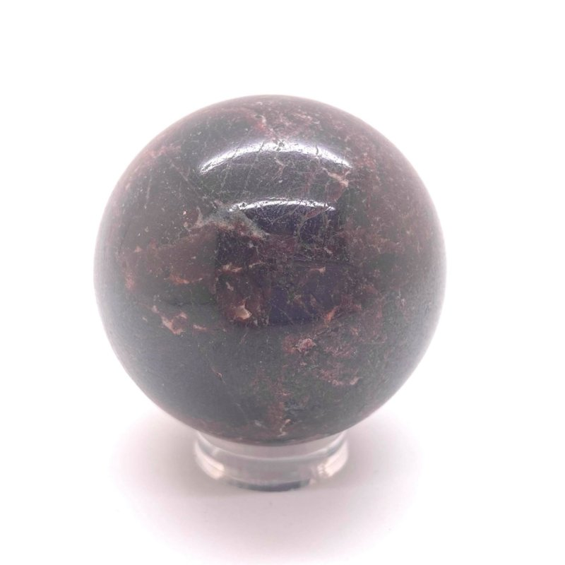 Granaat Almandien bol Ø 52 mm, 305 gram