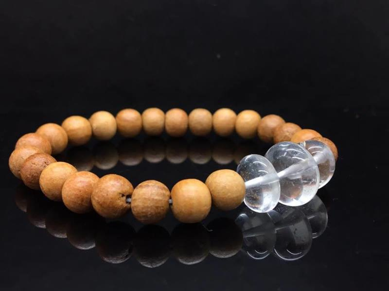 Sandalwood met Bergkristal* Energie & Zuiverheid*