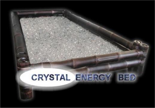 Energie bed bergkristal