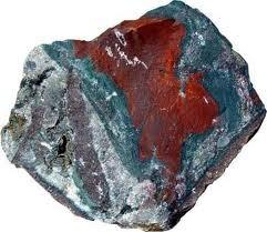 Heliotroop edelstenen en mineralen