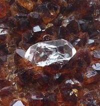 Herkimer diamant edelstenen en mineralen