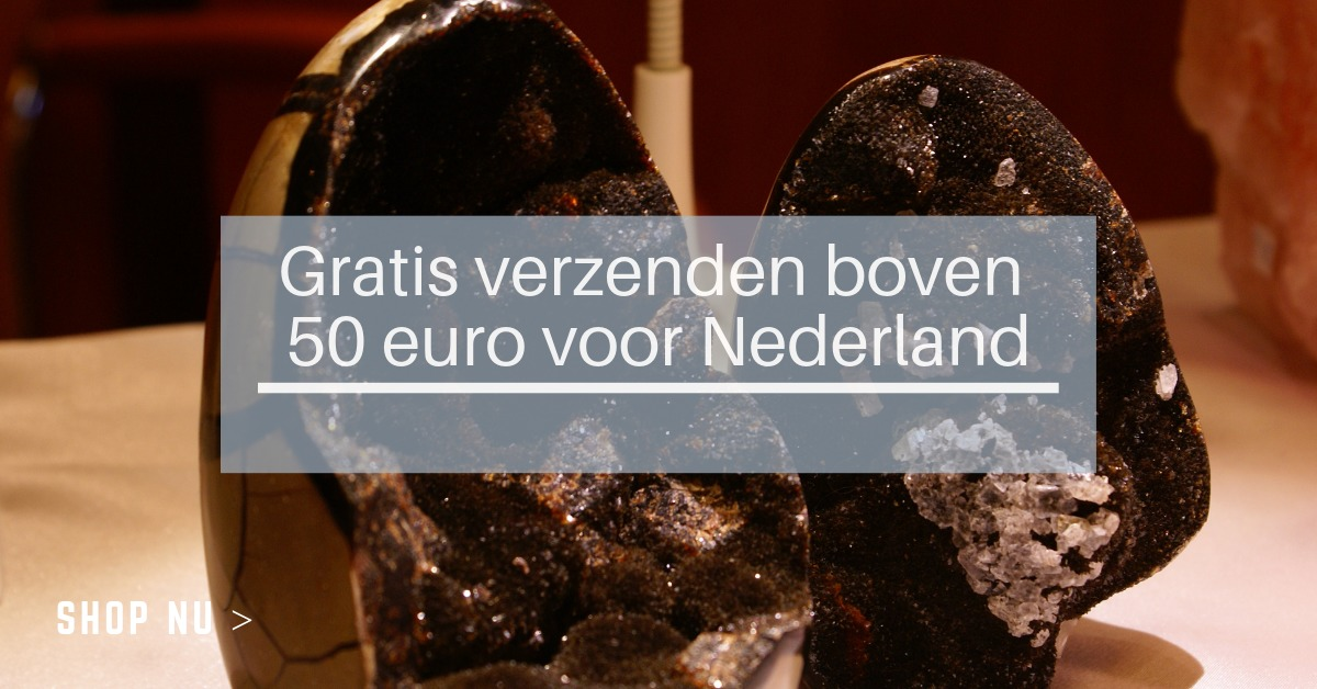 Gratis verzending boven € 50 Nederland