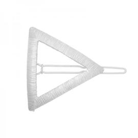Haarspeld Metal Triangle | Zilver