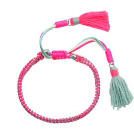 Armband Summery Tassel | Pink