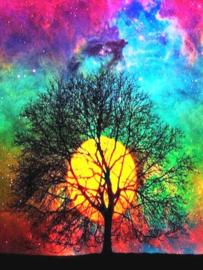 Diamond Painting set | Colorful Tree