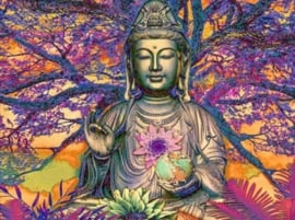 Diamond Painting set | Buddha Tree