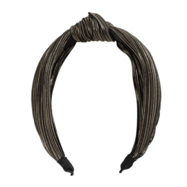 Haarband geknoopt Shine   Gold