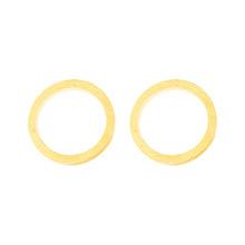 Oorbel Cirkel Goud