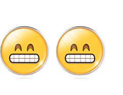 """Oorbel Emoji  """"Grinning """""""