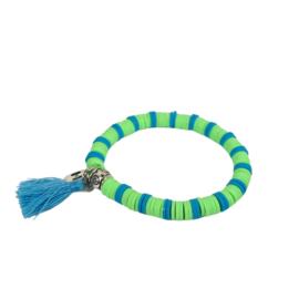 Armbandje Color Kids♡ Lime Zebra