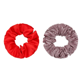 Scrunchie It Takes Two | Rood