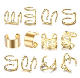 Set Ear Cuffs | Goud