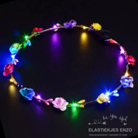 LED Haarband 'Flowers' | Multi