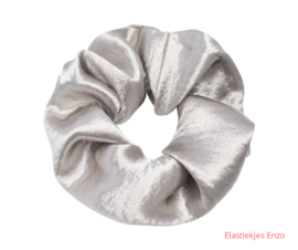 Srunchie Soft As Satin Silver