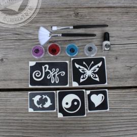Kado set Glitter Tattoo | Girl