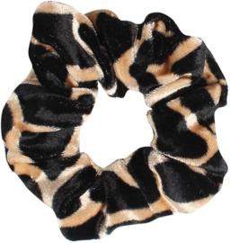 Velvet Scrunchie Cheetah